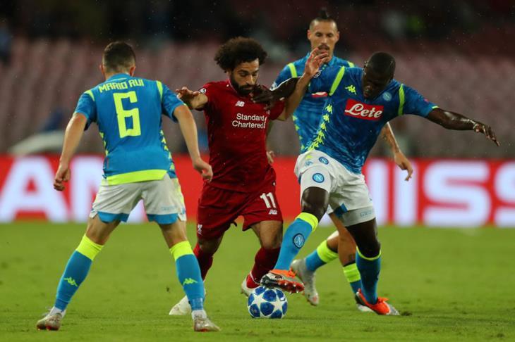 تقرير.. قبل مواجهة نابولي.. 5 لاعبين يجب على ليفربول الحذر منهم