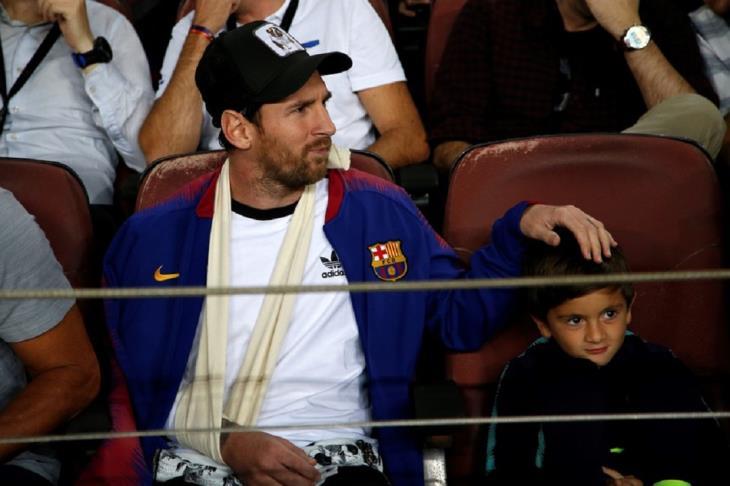 ميسي عن مشاهدة المباريات بصحبة نجله: فاجأني بفهمه لكرة القدم