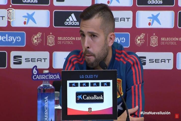 برشلونة يعلن غياب جوردي ألبا لأجل غير مسمى