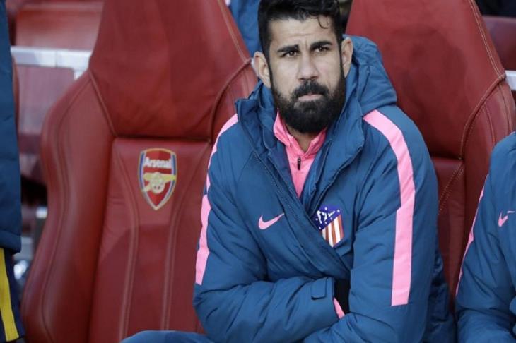 كوستا يخضع لجراحة تبعده عن صفوف أتلتيكو مدريد حتى العام المقبل