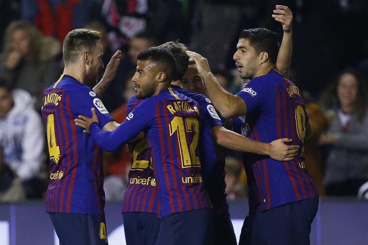 بالفيديو.. برشلونة يحلق في صدارة الليجا بفوز قاتل على رايو فاليكانو