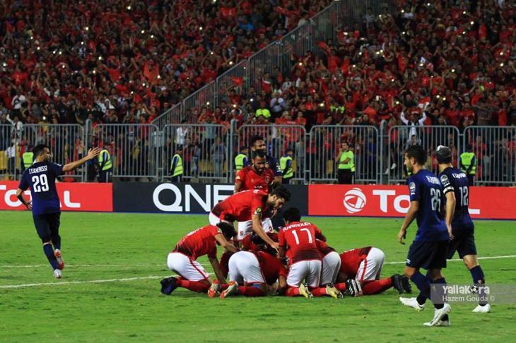 المركز الخامس هدف الأهلي والطلائع في مؤجلة الدوري