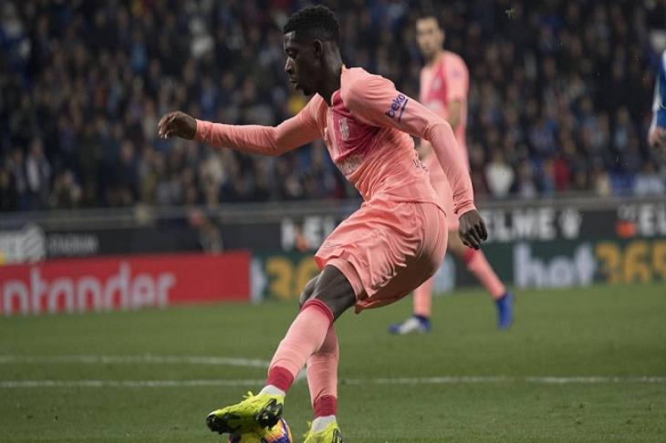 آس: برشلونة يغرم ديمبلي 100 ألف يورو