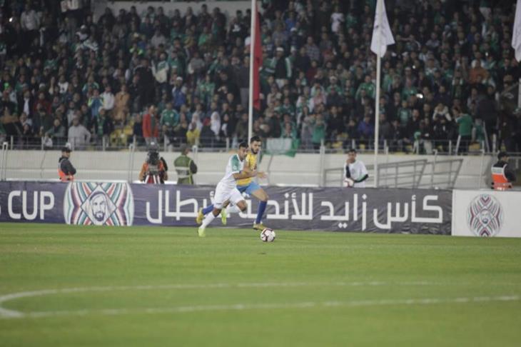 ركلات الجزاء تطيح بالإسماعيلي من كأس زايد ليتأهل الرجاء المغربي لربع النهائي