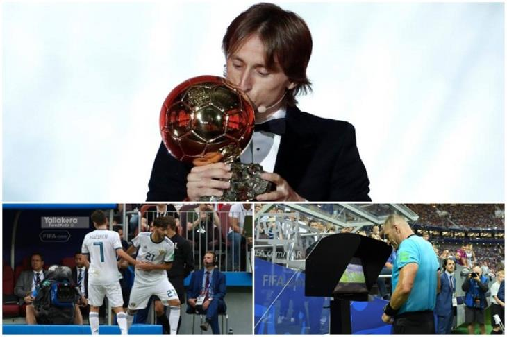 """حصاد 2018 عالميا.. """"أول مرة"""".. جوائز مودريتش.. وظهور الـ VAR في كأس العالم"""