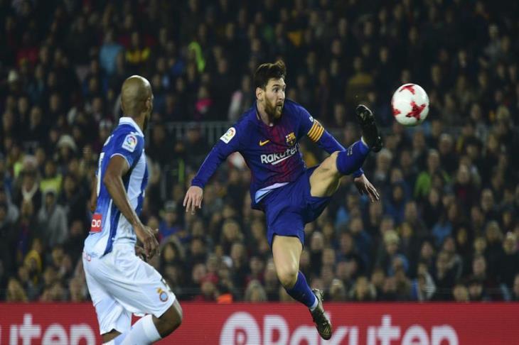 ميسي يُداعب رقماً قياسياً جديداً أمام إسبانيول