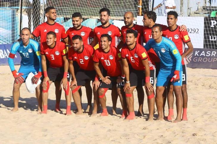 مصر تسحق المغرب بسداسية  فى امم افريقيا للشاطئية