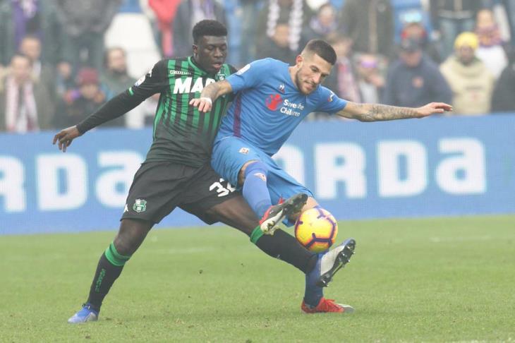 مباراة الأهداف الستة.. فيورنتينا يقلب تأخره أمام ساسولو لتعادل مثير