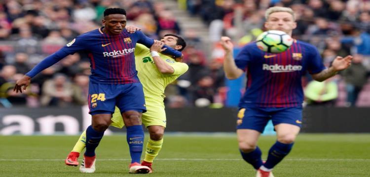 برشلونة يفتح باب رحيل ياري مينا