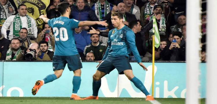 بالفيديو.. في مباراة 8 نجوم.. مدريد يتجاوز بيتيس بصعوبة في الليجا