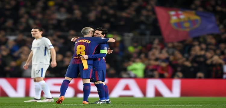 إنييستا وميسي يبحثان عن لقبهما الـ31 بقميص برشلونة