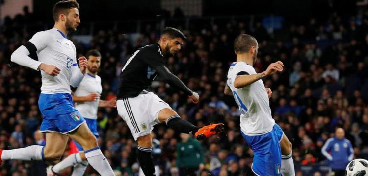 الأرجنتين تسقط إيطاليا بثنائية في غياب ميسي وتعادل إسبانيا وألمانيا