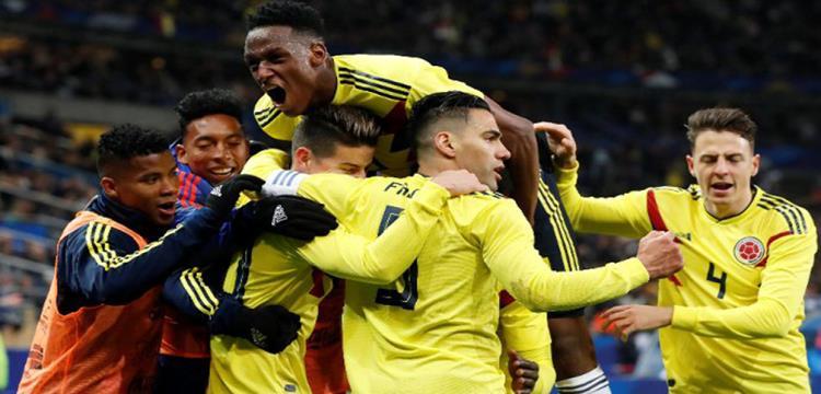 تشكيل كولومبيا.. رودريجيز وفالكاو يقودان الهجوم أمام مصر
