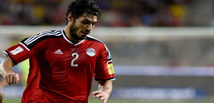 """مصدر لـ""""يلا كورة"""": جبر يشتكي من الخلفية.. وسعد بديلا له في ودية مصر ضد كولومبيا"""