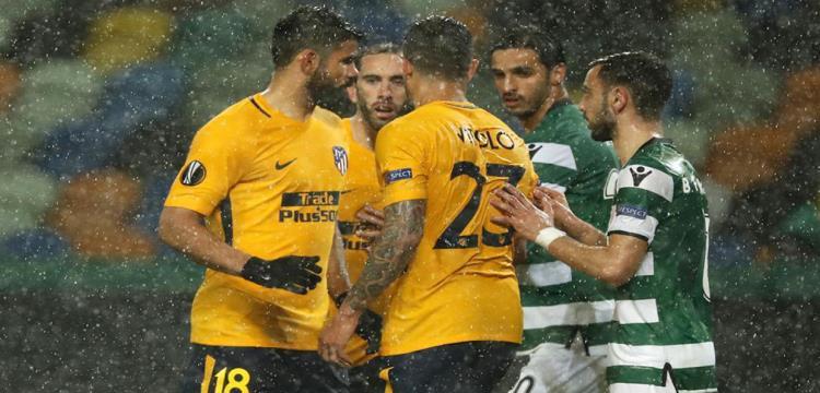 أتلتيكو يتأهل لنصف نهائي الدوري الأوروبي رغم الخسارة وسالزبورج يواصل المغامرة