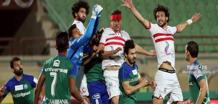 احمد سامي عادل محمود علاء الزمالك المقاصة