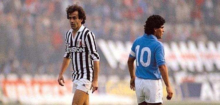 """نابولي vs يوفنتوس.. معركة """"ميسي - رونالدو"""" الأولى في الثمانينيات"""
