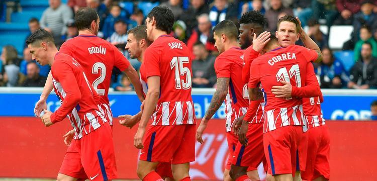 بالفيديو.. أتلتيكو يسقط ألافيس ويلقي بكرة حسم الدوري الإسباني في ملعب برشلونة