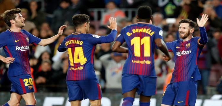 مباراة السوبر بين برشلونة وأشبيلية تستحوذ على عناوين الصحف الأسبانية