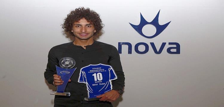 رسميا.. عمرو وردة أفضل لاعب في اليونان