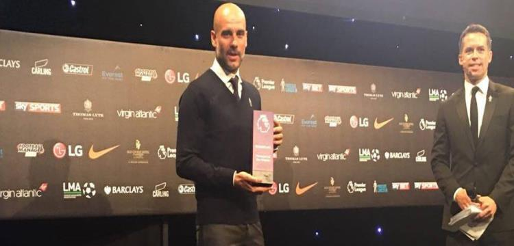 رسميًا.. جوارديولا أفضل مدرب في الدوري الإنجليزي