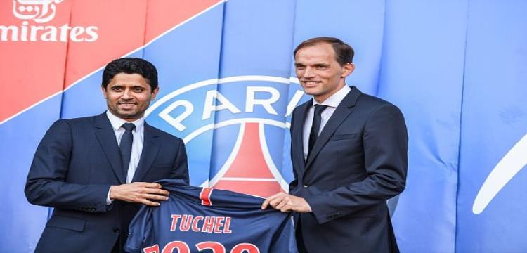 الخليفي يقدم توخيل مدربًا جديدًا لباريس