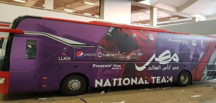 فيفا يكشف عن.. شعار حافلة مصر في كأس العالم