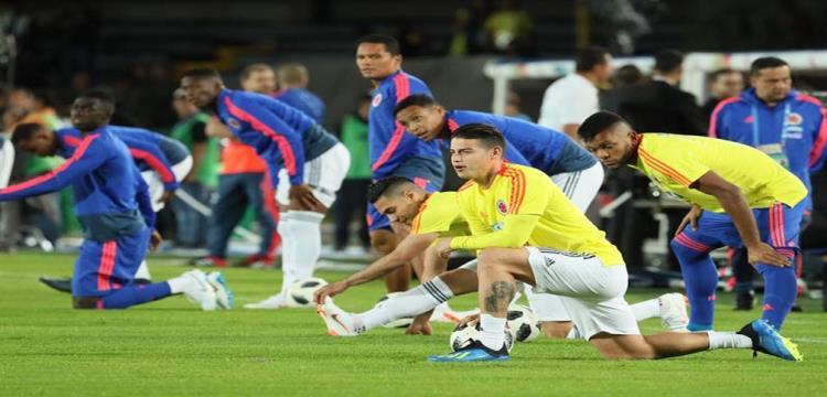 قلق في معسكر كولومبيا قبل مواجهة إنجلترا بسبب رودريجيز