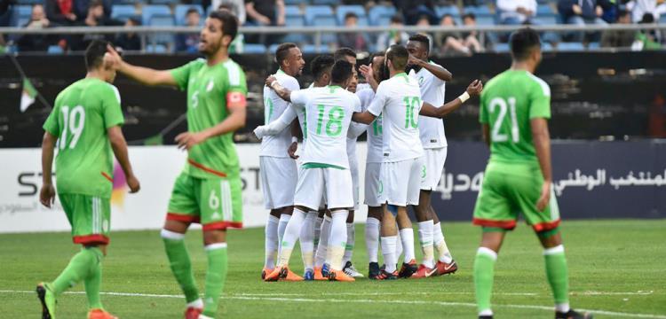 مجموعة مصر.. السعودية تفوز على الجزائر