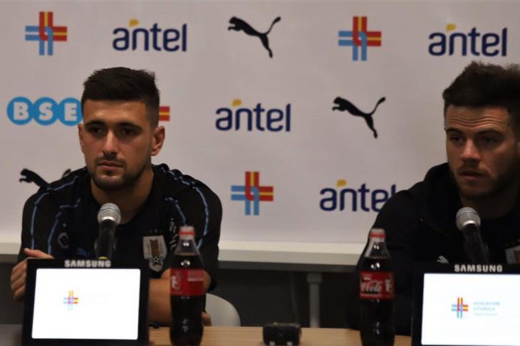 """لاعب أوروجواي: منتخبنا يضم """"وحوش"""""""