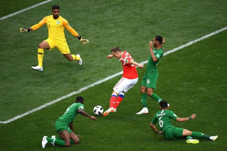 مونديال روسيا يشهد رقمًا قياسيًا في تسجيل الأهداف