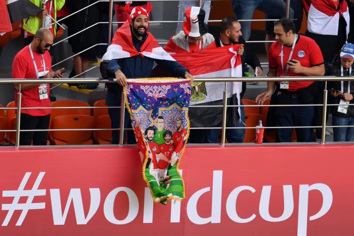 جماهير مصر في روسيا تعرض تذاكر مباراة السعودية للبيع