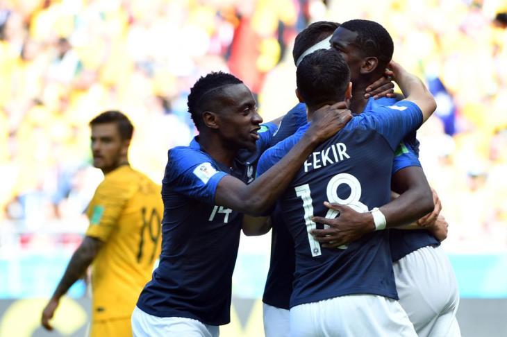 """بالفيديو.. في مباراة """"التكنولوجيا"""".. فرنسا تخطف انتصارا مثيرا من استراليا في المونديال"""