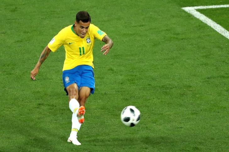 كوتينيو رجل مباراة البرازيل وسويسرا