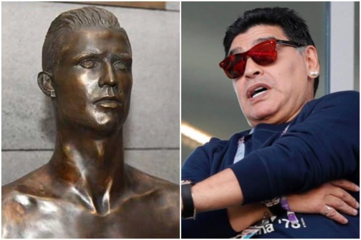 صباحك أوروبي.. هدف برشلونة الجديد.. استبدال تمثال رونالدو.. وهجوم مكسيكي على مارادونا