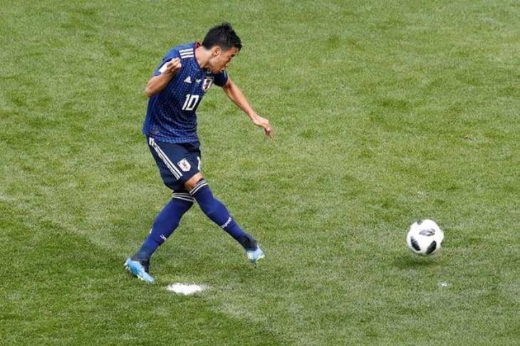 اليابان يحصل على أول ضربة جزاء في تاريخه بالمونديال أمام كولومبيا