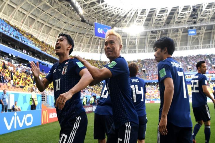 استقبال حافل للمنتخب الياباني لدى عودته من مونديال روسيا
