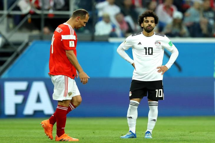 """تقرير.. 4 أسباب تسببت في هزيمة مصر من روسيا.. """"صلاح وحده لا يكفي"""""""