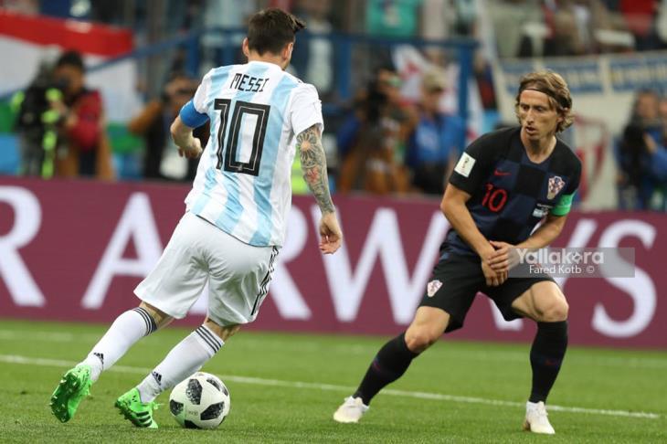 الأرجنتين تطوي صفحة كرواتيا وتبدأ الاستعداد لمواجهة نيجيريا
