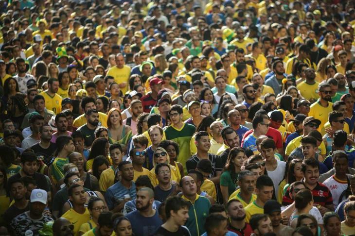 مباراة البرازيل وكوستاريكا تحقق نسبة مشاهدة قياسية