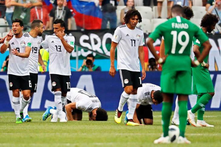 مباشر- كأس العالم.. مصر 1-1 السعودية
