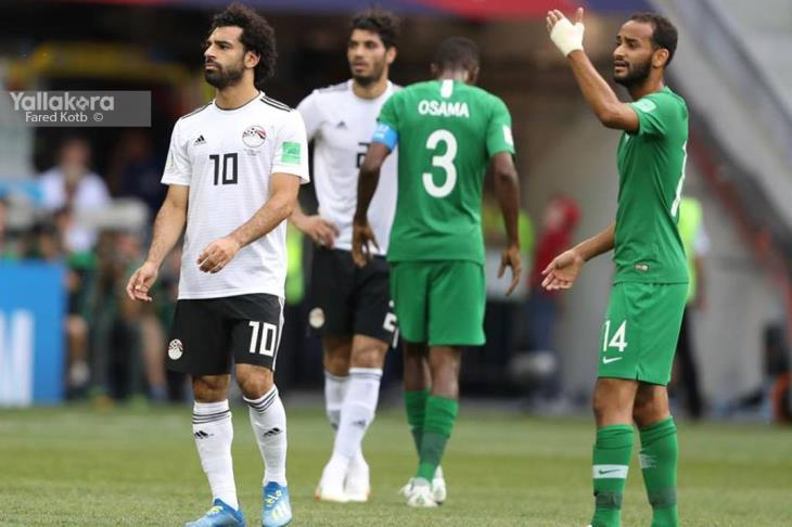 صلاح يفوز بجائزة أفضل لاعب في مباراة مصر والسعودية