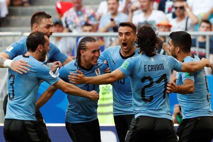 مدرب أوروجواي: نشعر بالفخر.. وهدفنا بلوغ نهائي المونديال