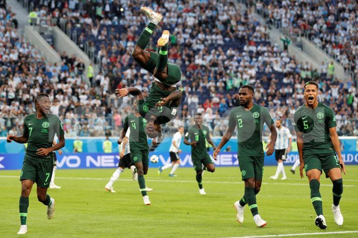 تشكيل نيجيريا.. أيوبي أساسيًا.. وثلاثي هجومي أمام مصر