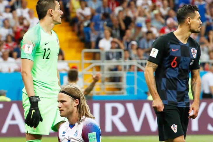 ايسلندا تودع المونديال وكرواتيا تحقق العلامة الكاملة