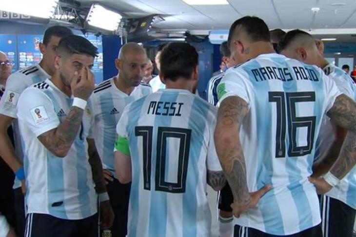 """ماركوس روخو يكشف """"تعليمات"""" ميسي خلال مباراة نيجيريا"""