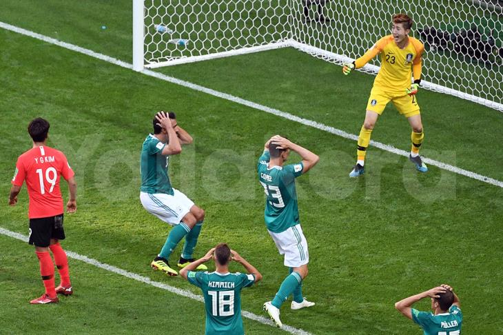 سقوط ألمانيا.. انتصار تاريخي لكوريا يطيح بأبطال العالم من مونديال روسيا