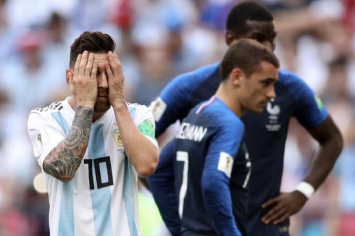 عقل  المباراة: سامباولي وميسي مسئولان عن خروج الارجنتين من كأس العالم