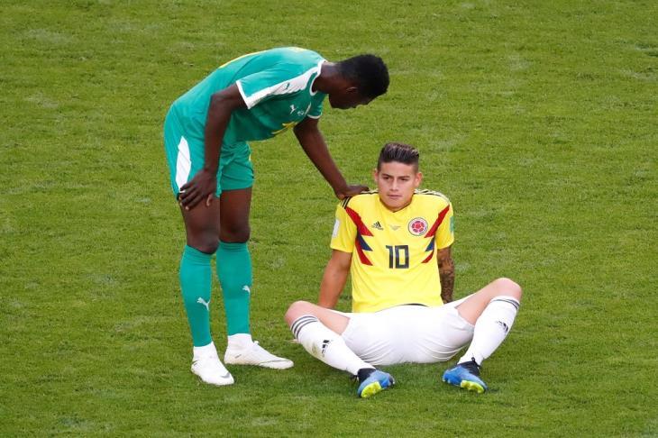 الإصابة تبعد رودريجيز عن الملاعب ثلاثة أسابيع تقريبا
