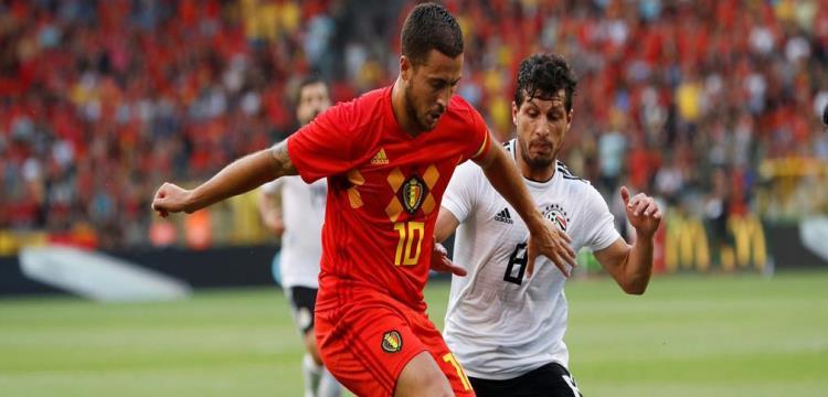 هازارد يتوقع تأهل مصر لدور الـ16 بالمونديال.. وبلجيكا البطل